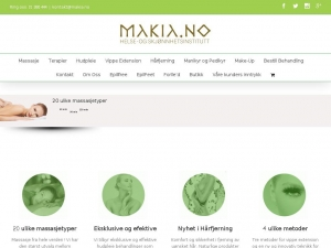 Makia - professional beauty clinic in Oslo